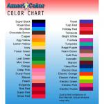 食紅 カラーチャート